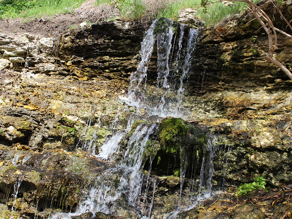 Унікальні водоспади у степах Херсонщини