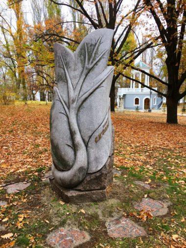 памятник С.М. Фалдзинському